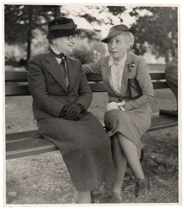 Art collectors and dealers, Bertha Weill and Lucy Bollag, n/d