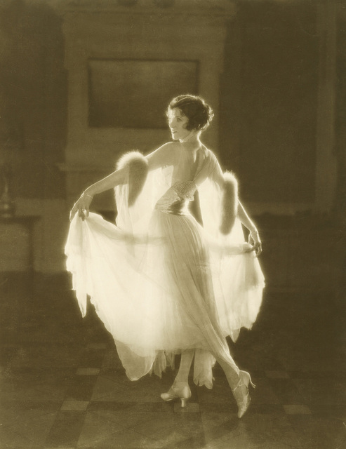 "Irene Castle, wearing dress design by Lucile, Ltd., 1922 in the film ""French Heels"""