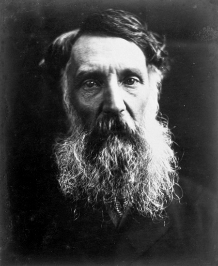 Eyre in 1867, photograph by Julia Margaret Cameron