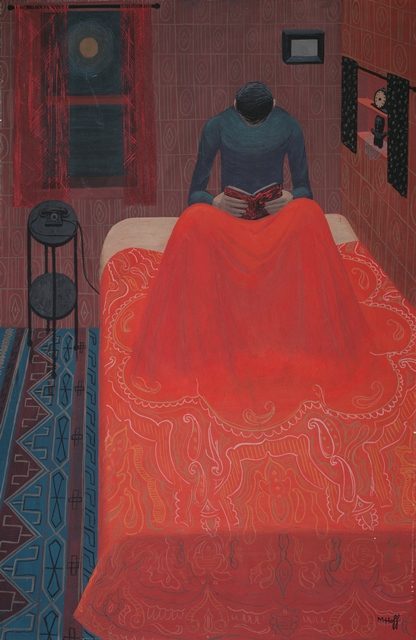 """Murder Mystery,"" by Margo Hoff, 1945"