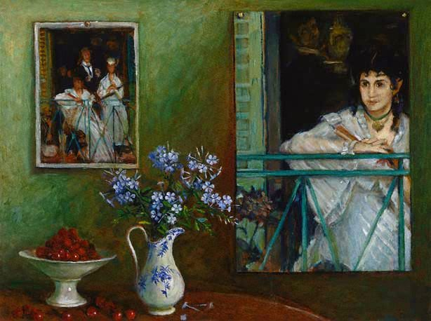 """Homage to Manet,"" 1987"