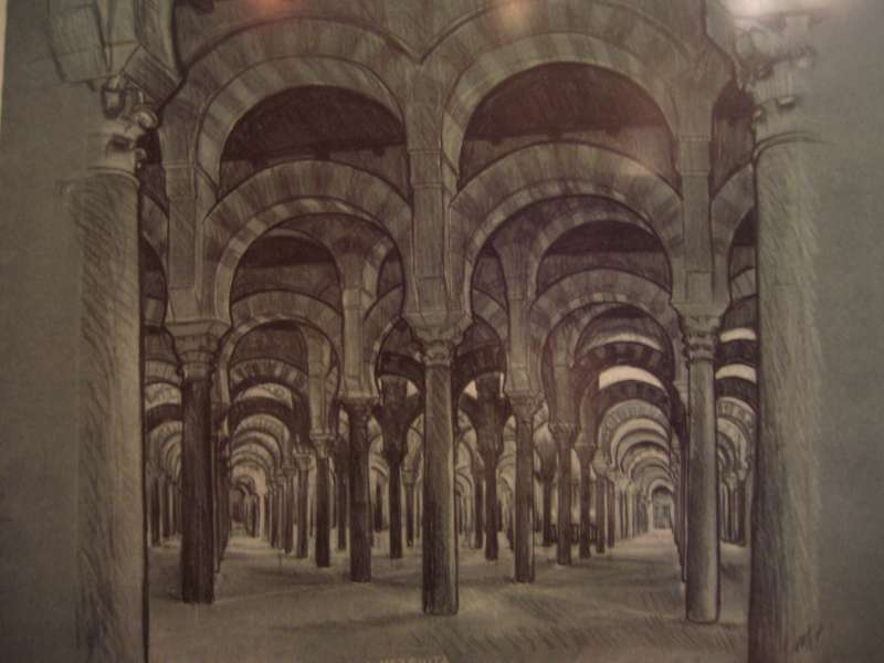 """La Mezquita,"" by M.C. Escher, 1935"
