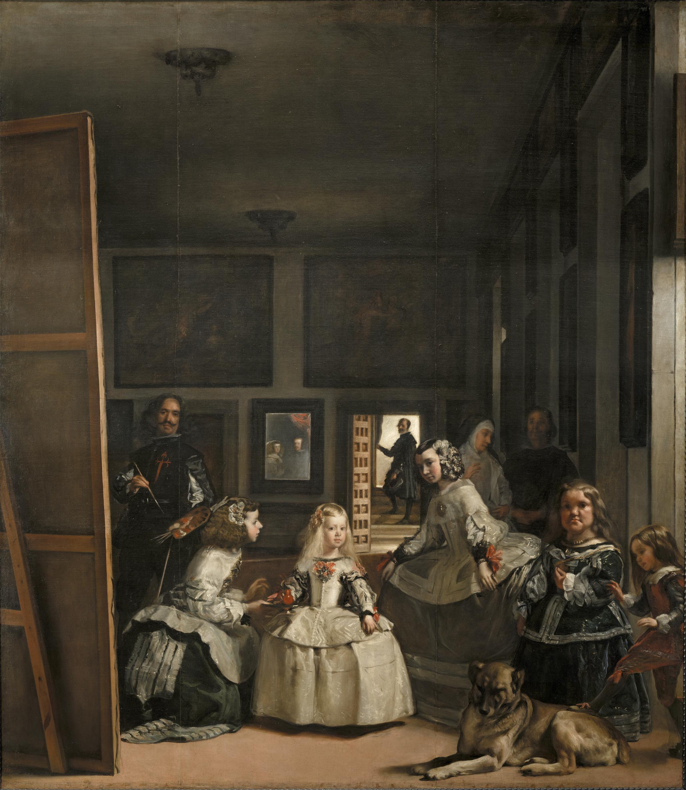 """""""Las Meninas,"""" by Diego Velázquez"""