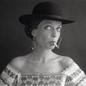 Portrait of Lillian Bassman by Paul Himmel