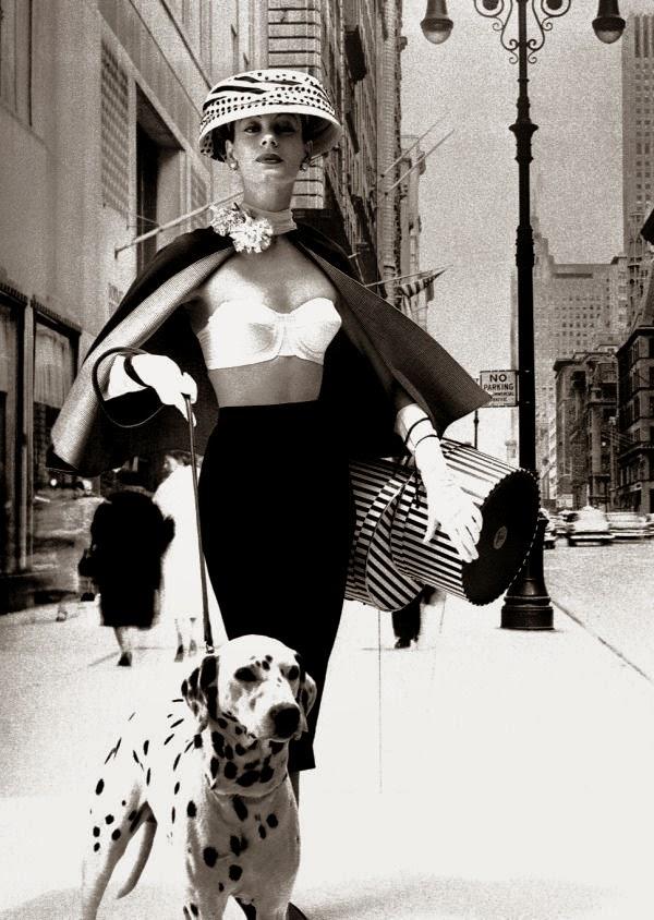 Photo by Lillian Bassman, 1956