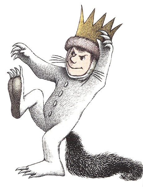 "Max, from ""Where The Wild Things Are,"" by Maurice Sendak"
