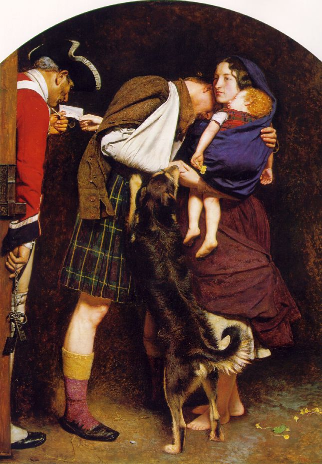 """The Order Of Release,"" by John Everett Millais, 1853"