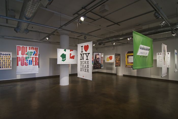 """Milton Glaser's SVA: A Legacy of Graphic Design"" exhibition ima"