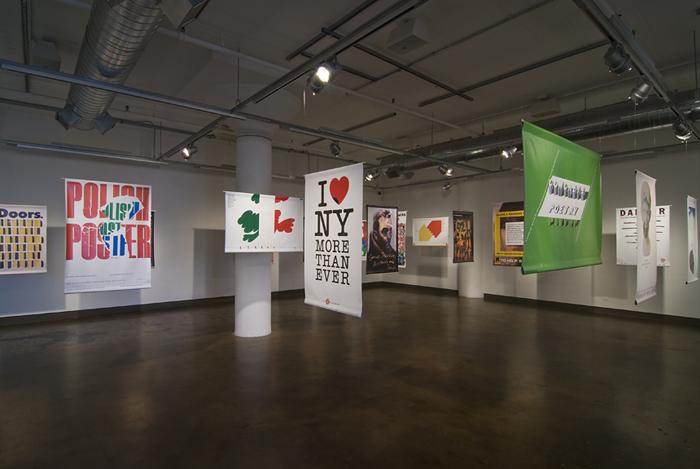 """Milton Glaser's SVA: A Legacy of Graphic Design"" exhibition ima"