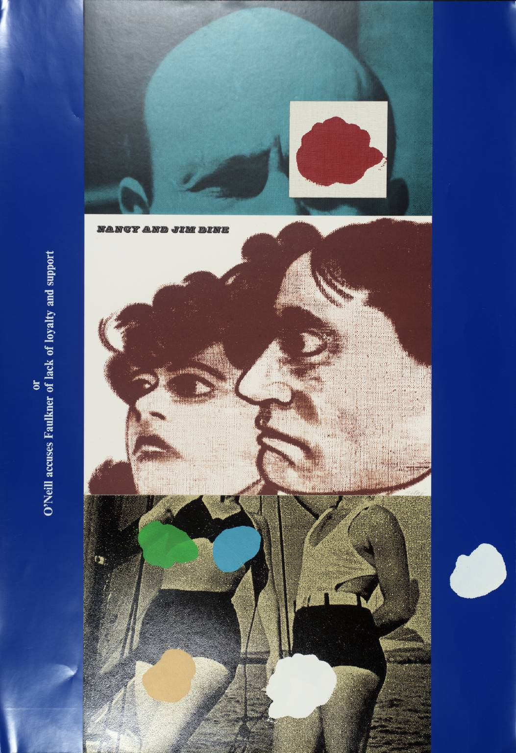 """Nancy and Jim Dine,"" by R.B. Kitaj, 1969-70"