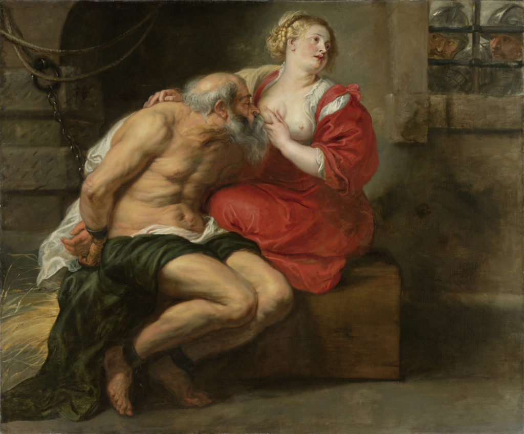 """Cimon and Pero,"" c. 1630"