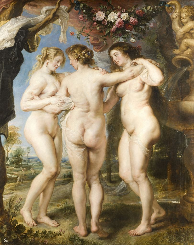 """The Three Graces,"""