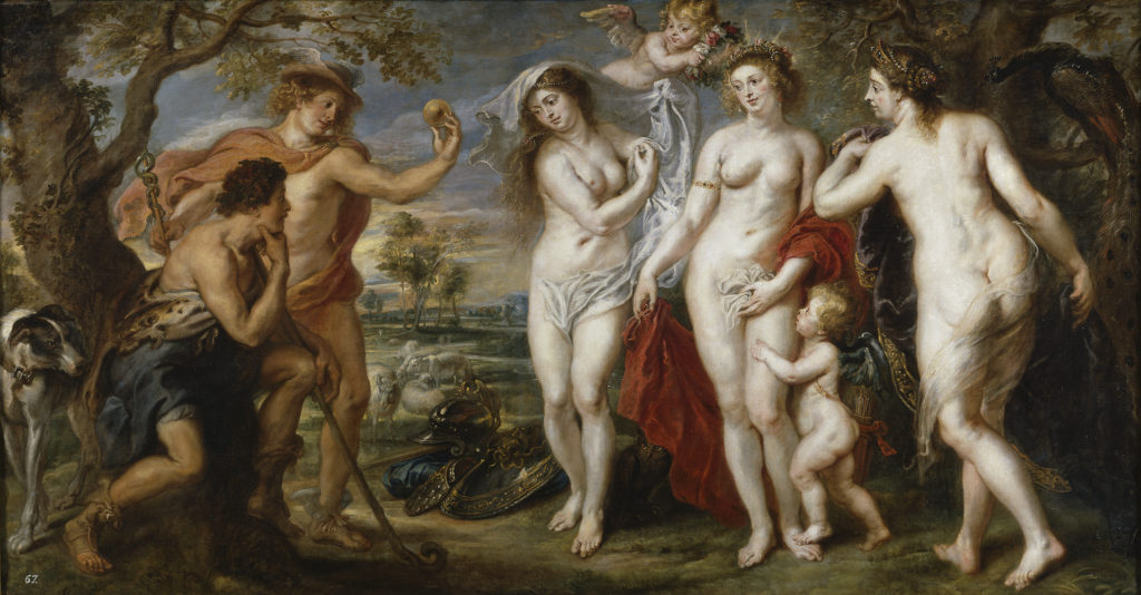 """The Judgement Of Paris,"""