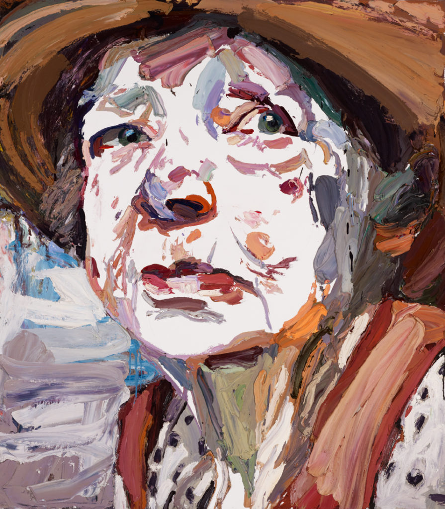 Portrait of Margaret Olley, by Ben Quilty