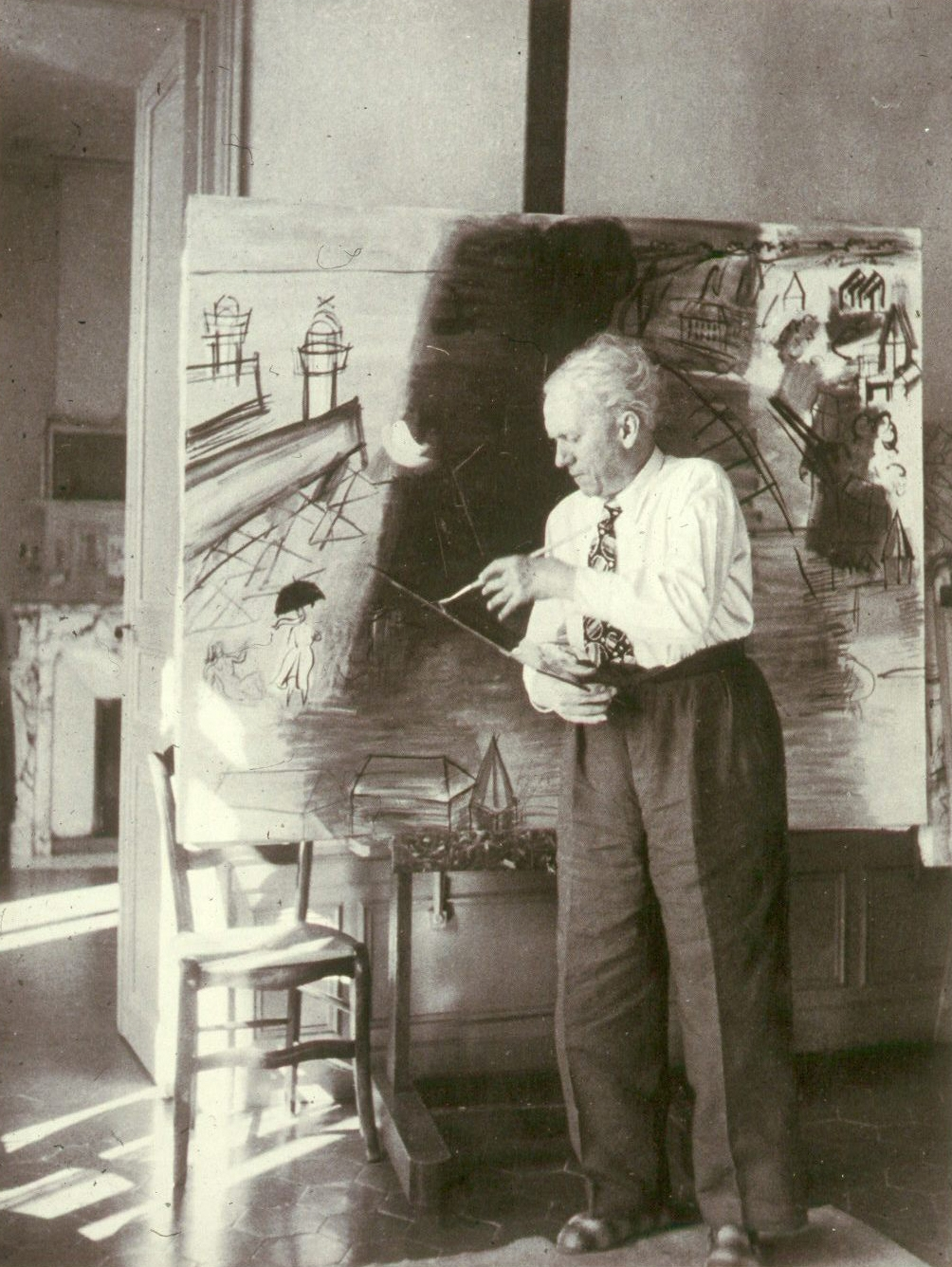 Raoul Dufy, showing the signs of the arthritis that nearly ended his career