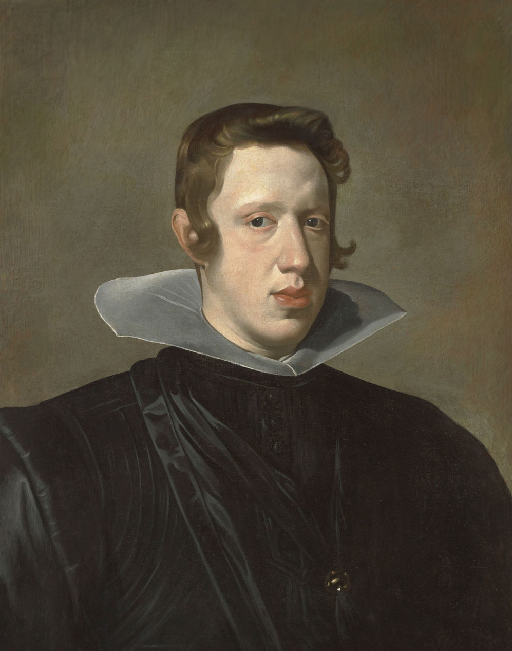 """Portrait of Philip IV,"" by Diego Velázquez, 1623"