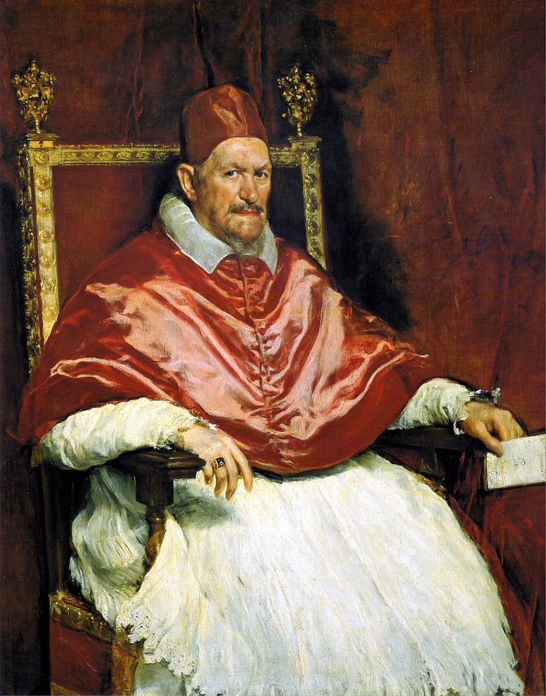 """Portrait of Innocent X,"" by Diego Velázquez, 1650"