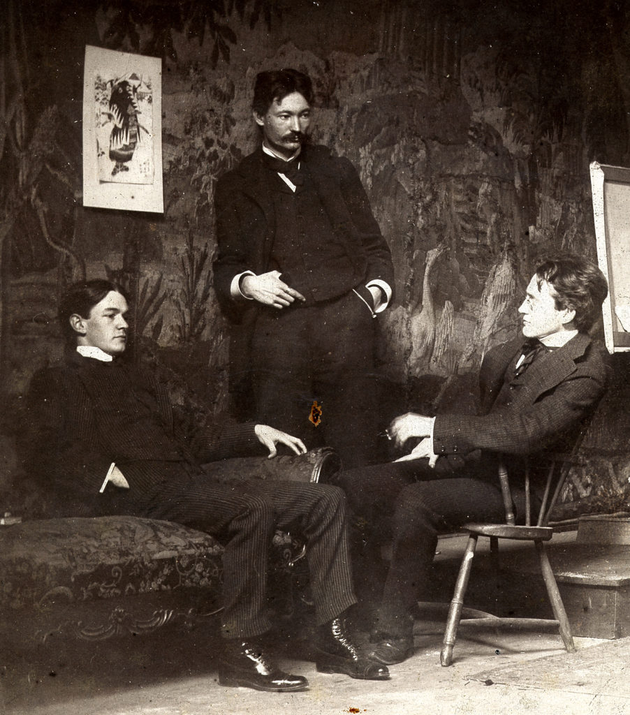 From left to right: Schinn, Henri, and Sloan