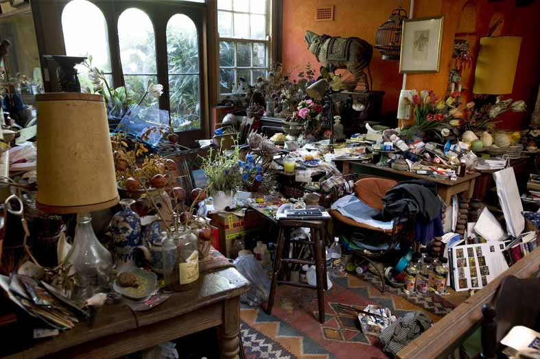 Original studio of Margaret Olley