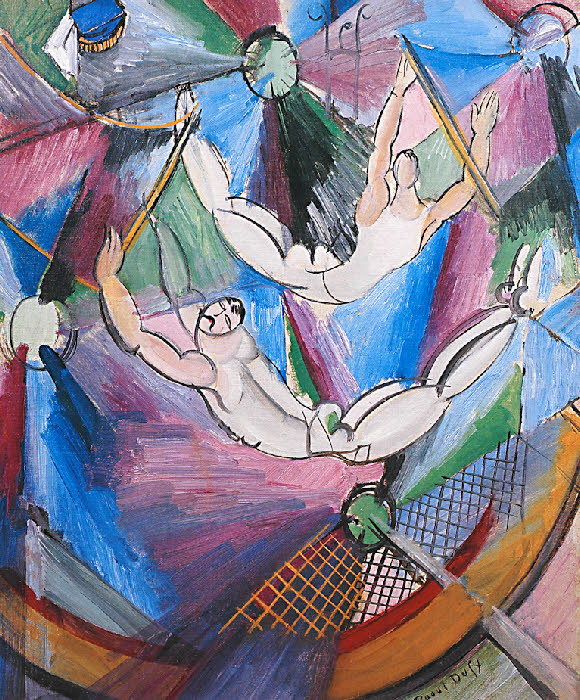 """Acrobats,"" by Raoul Dufy, 1922"