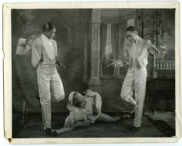Tapdancers (Nicholas Brothers?), c. 1925