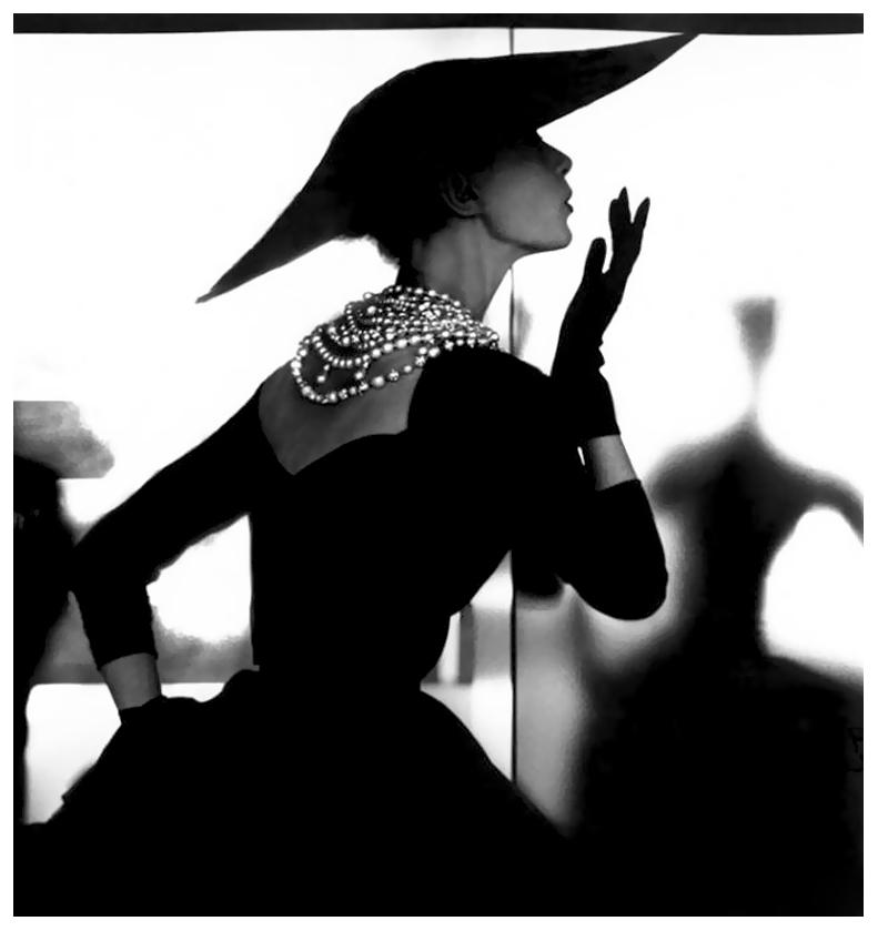 Barbara Mullen, 1950, by Lillian Bassman