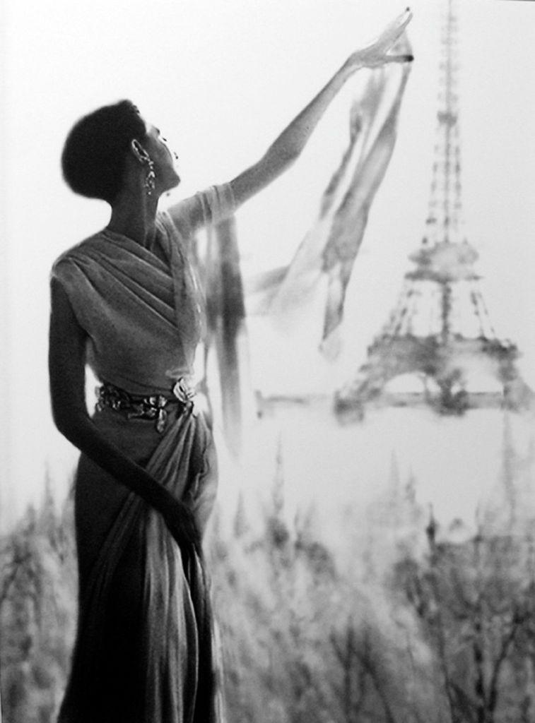 Actress Barbara Mullen, photo by Lillian Bassman, c. 1950