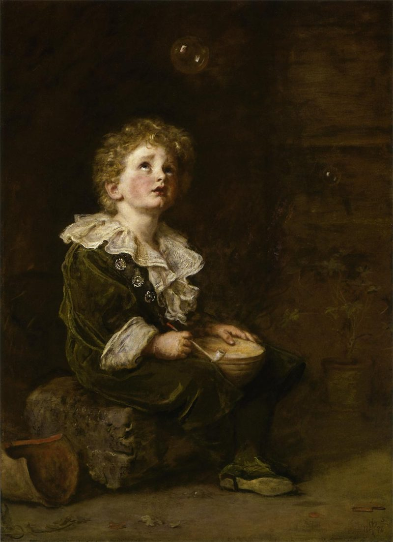 """Bubbles,"" by John Everett Millais,"