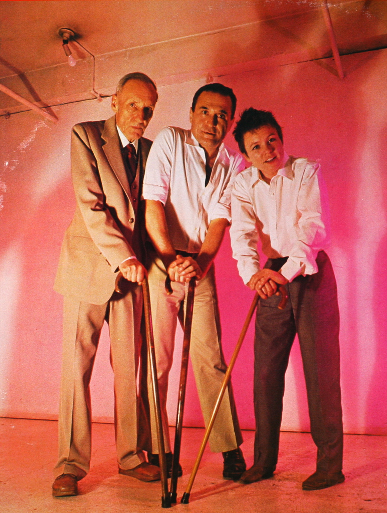William Burroughs, Giorno, and Laurie Anderson
