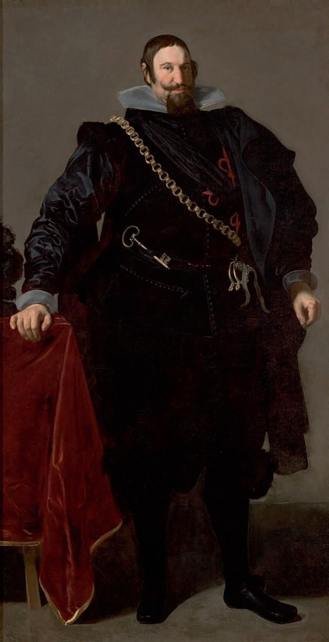 """Portrait of Count Duke of Olivares,"" by Diego Velázquez, 1624"