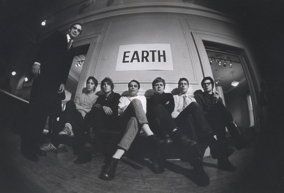 Neil Jenney, Dennis Oppenheim, Gunther Uecker, Jan Dibbets, Richard Long, and Robert Smithson - the Earth Art Group
