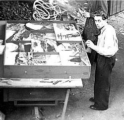 Ernst Schwitters, 1944, London
