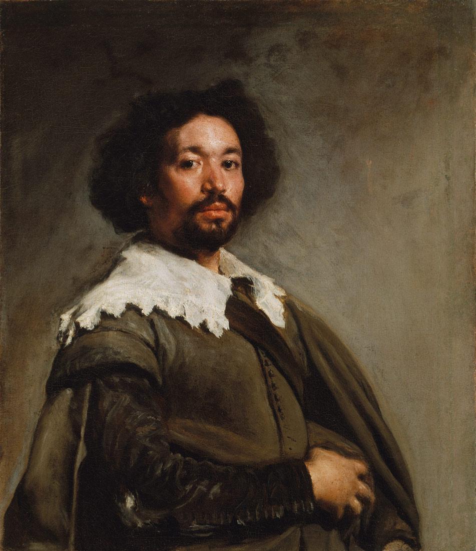 """""""Portrait of Juan de Pareja,"""" by Diego Velázquez, 1649"""