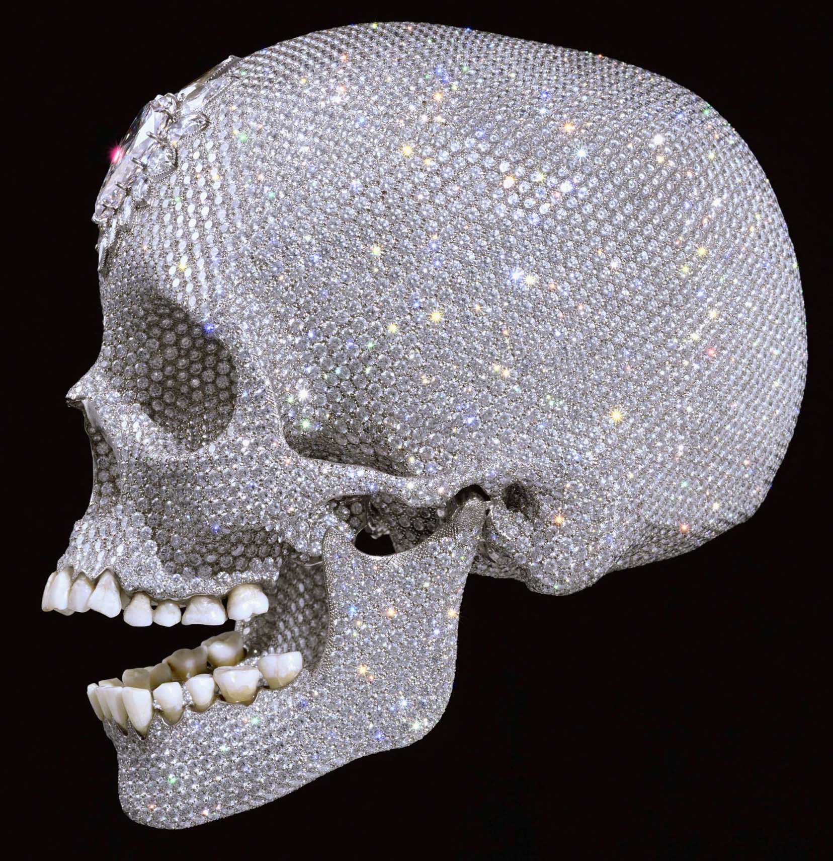 """For The Love Of God,"" by Damien Hirst,"
