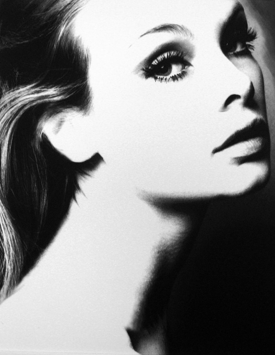 One of the world's first supermodels, Jean Shrimpton, photographed by Lillian Bassman, late 1960s
