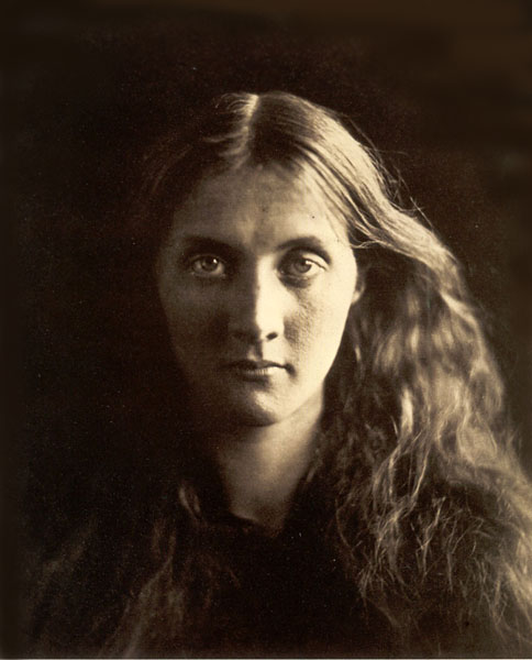 Portrait of her niece and namesake, Julia, by Julia Margaret Cameron