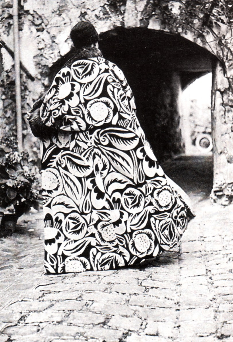 Fabric design by Raoul Dufy, 1911 - coat from the house of Poiret