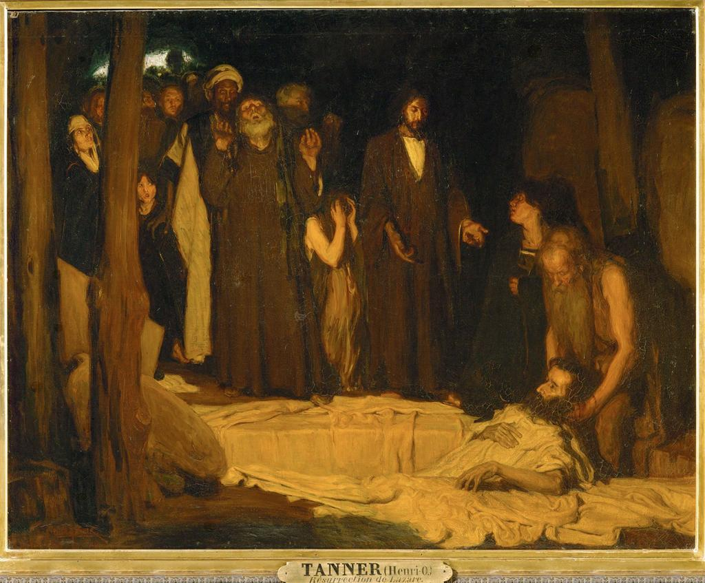 """The Resurrection Of Lazarus,"" by Henry Ossawa Tanner"