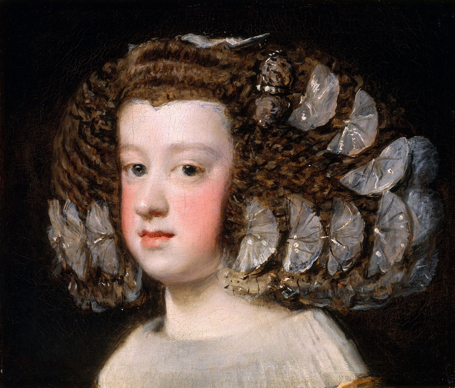 """Portrait of Maria Teresa, Infanta of Spain,"" by Diego Velázquez, 1651-54"