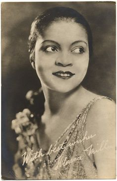 Florence Mills, c. 1930 9 (credited to Van Der Zee)