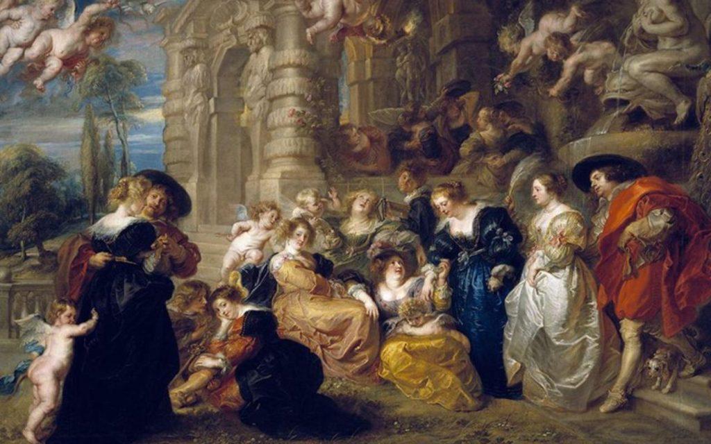 """""""Garden Of Love,"""" 1633"""