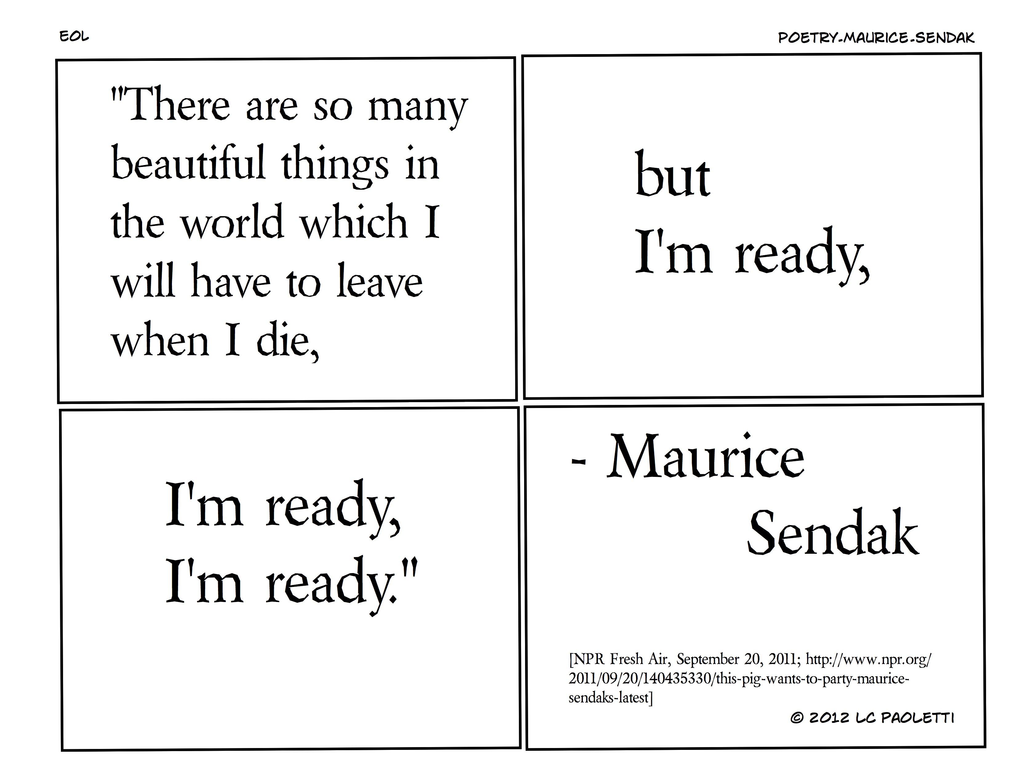 poetry-maurice-sendak
