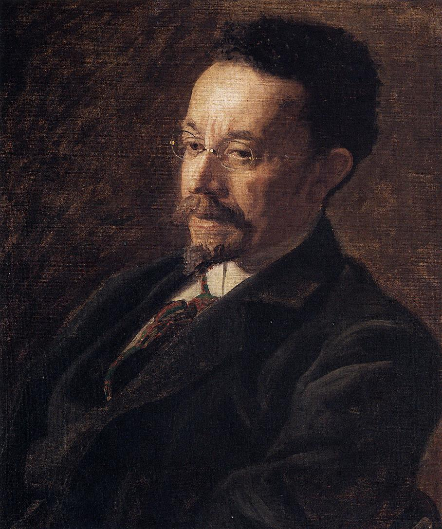 Portrait of Henry Ossawa Tanner by Eakins, 1897