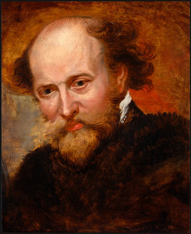 Rubens, self portrait, c. 1620