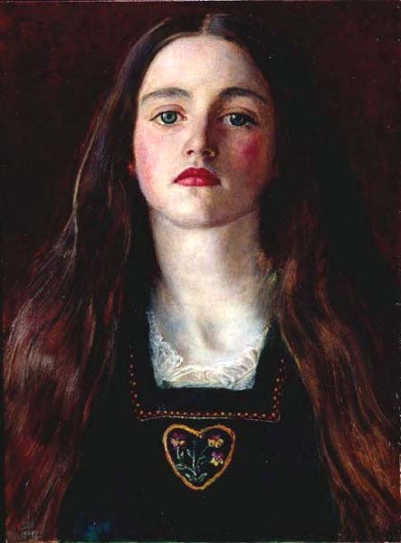 Portrait of Sophy Gray, by John Everett Millais, 1875