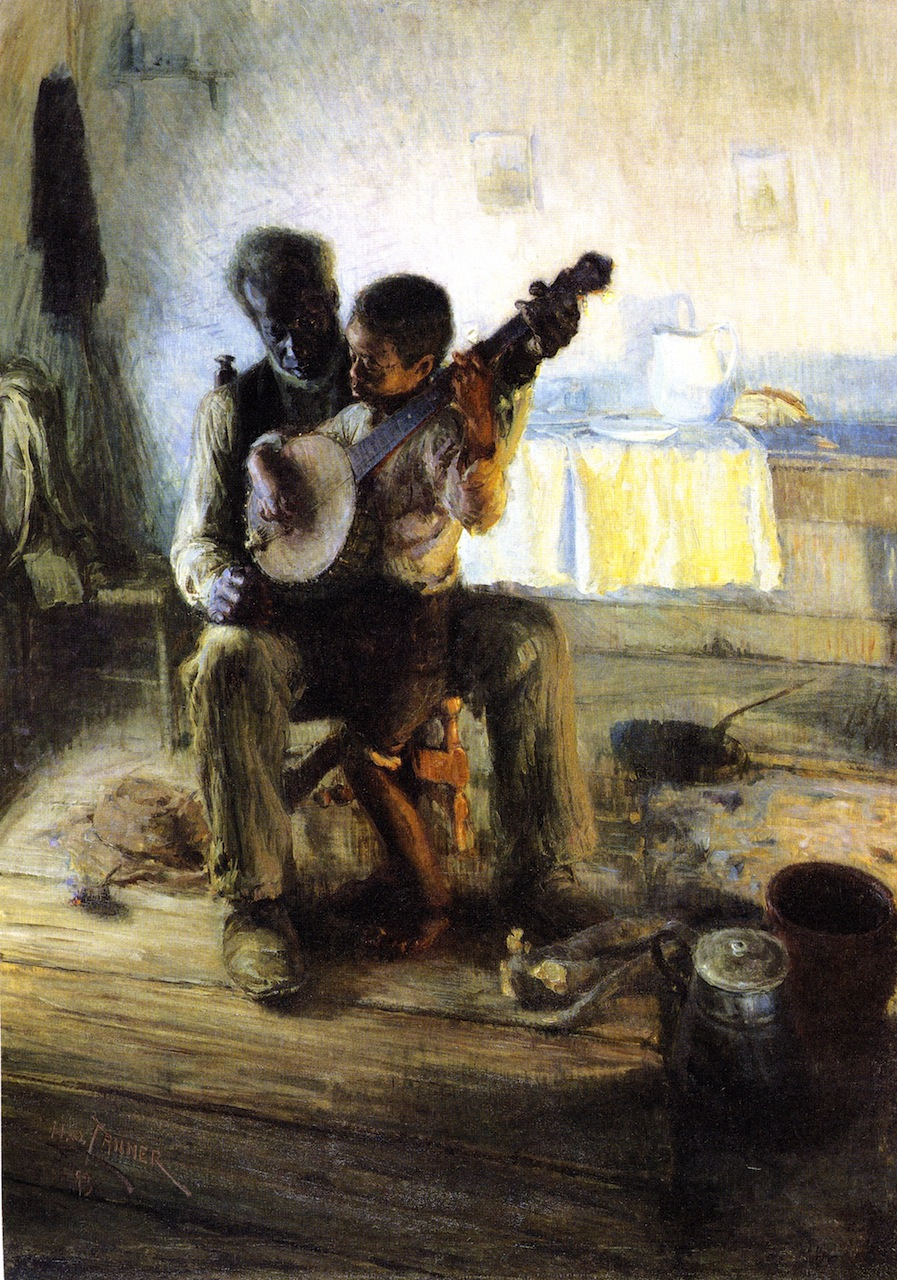 """The Banjo Lesson,"" 1893 by Henry Ossawa Tanner"