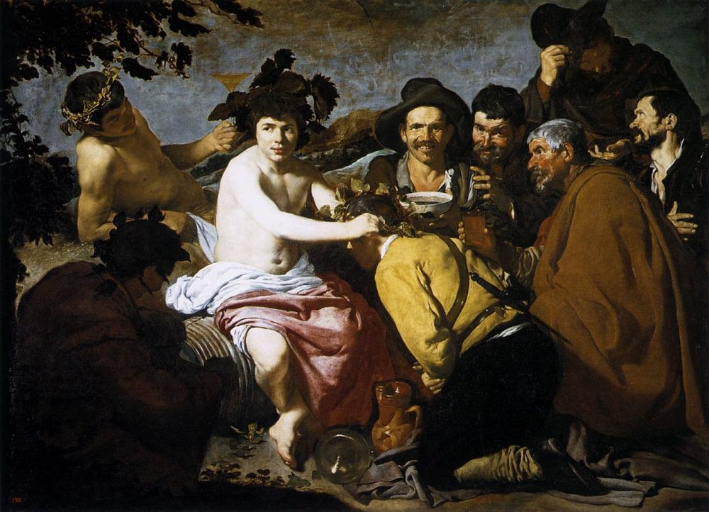 """The Triumph of Bacchus,"" by Diego Velázquez, 1629"