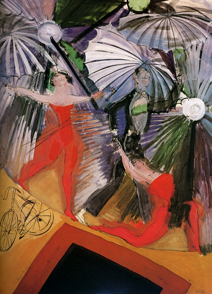 """The Trapeze Artists,"" by Raoul Dufy, 1922"