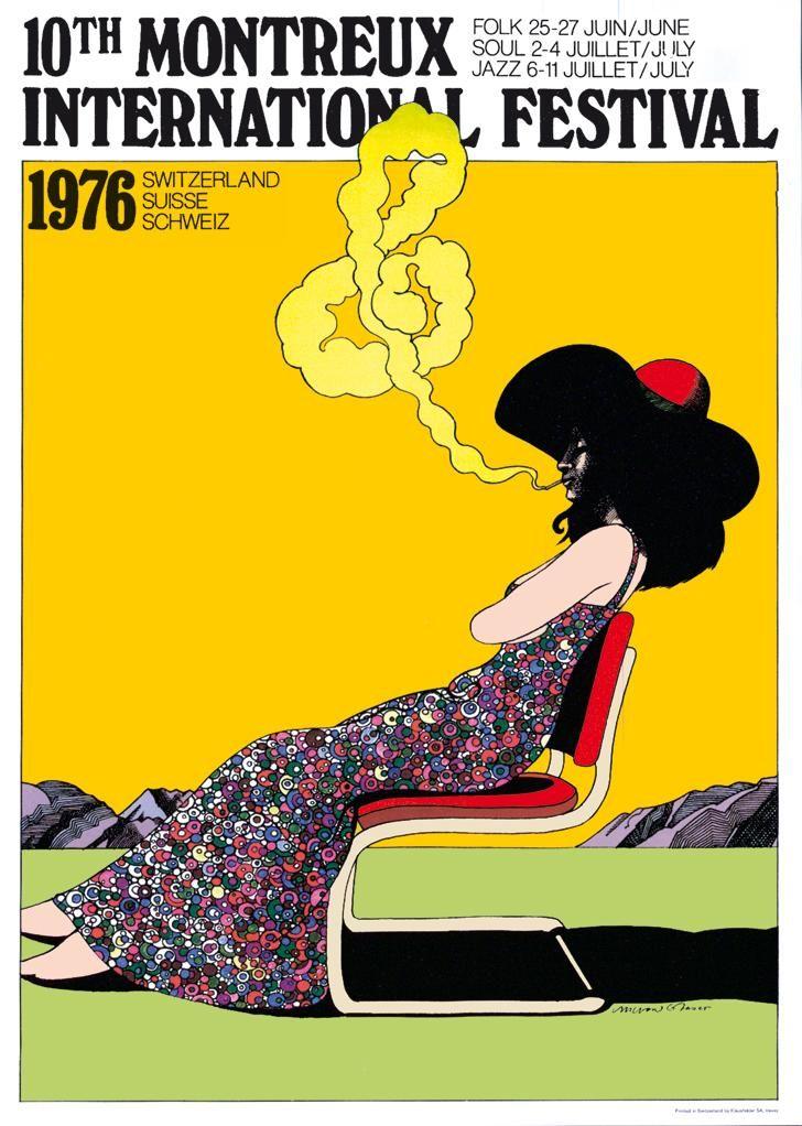 Poster for the Montrose Jazz Festival, 1975