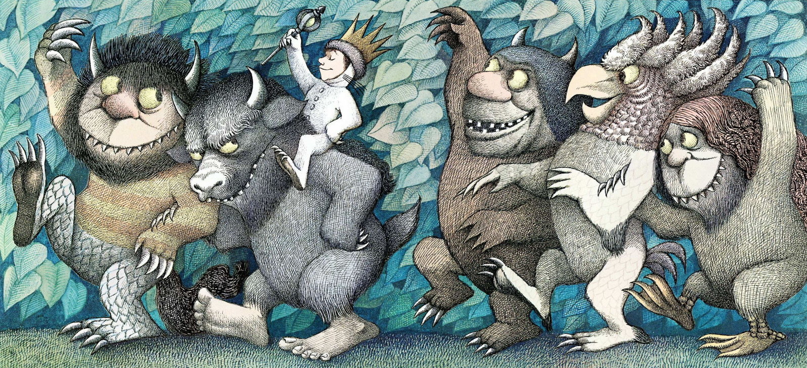 "From ""Where The Wild Things Are,"" by Maurice Sendak"